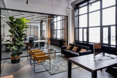 Bild Interior meeting room in modern space office