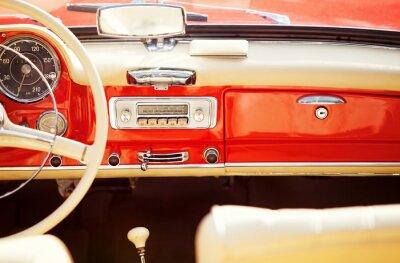Bild interno auto vintage