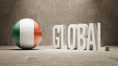 Irland. Globales Konzept.