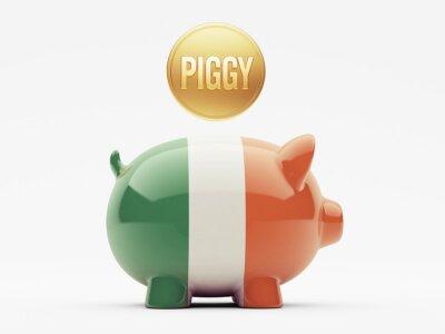 Irland-Piggy-Konzept