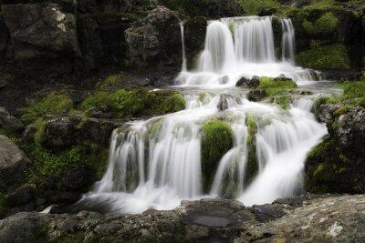 Bild Isländischen Wasserfall