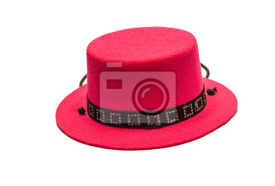 Bild Isolieren rosa Netto Hut