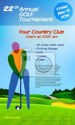 Jährliches Golfturnier