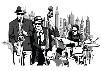 Bild Jazz-Band in New-York