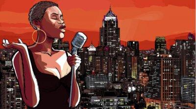 Bild Jazz-Sängerin