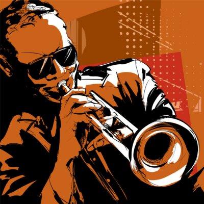 Bild Jazz-Trompeter