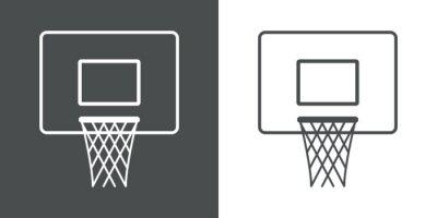 Jetzt kaufen icono plano canasta baloncesto # 1