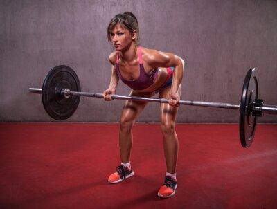 Bild Junge Frau in der Fitness-Session
