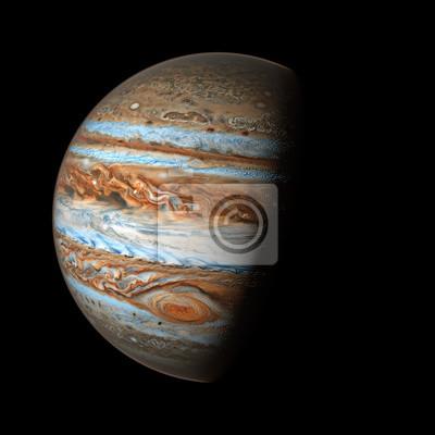 Jupiter Elemente dieses Bildes von Nasa eingerichtet