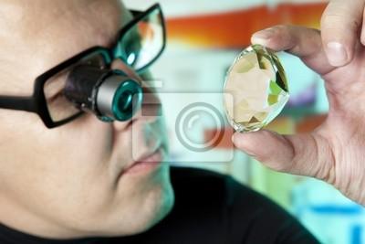 Juwelier Beurteilung Qualität der Diamanten