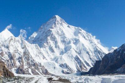 Bild K2 mountain peak, second highest mountain in the world, K2 trek, Pakistan, Asia