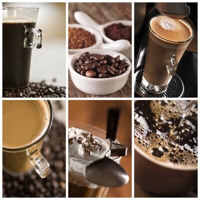 Bild Kaffee - eine Collage