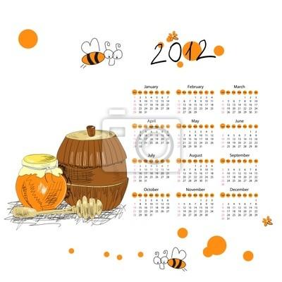 Kalender für 2012