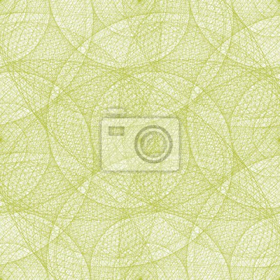 Kalk Farbe nahtlose verdrahtet Wirbel Fraktal Muster