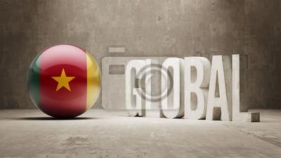 Kamerun Globales Konzept.