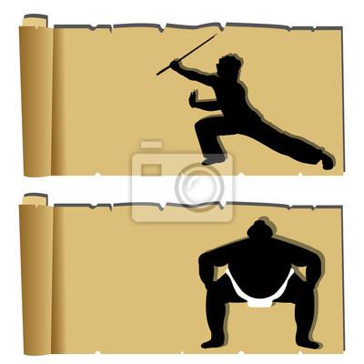 Kampfkunst Papyrus