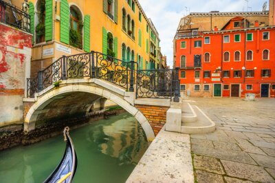Bild Kanal in Venedig, Italien