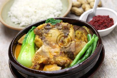 Philippinische Küche | Kare Kare Filipino Oxtail Eintopf Philippinische Kuche