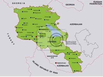 Armenien Karte.Bild Karte Armenien Armenien Landkarte