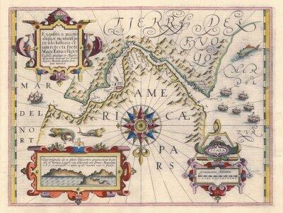 Bild Karte von Magellanstraße