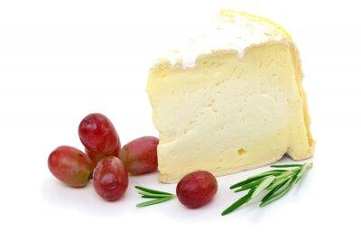 Bild Käse Trauben