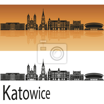 Bild Katowitz Skyline