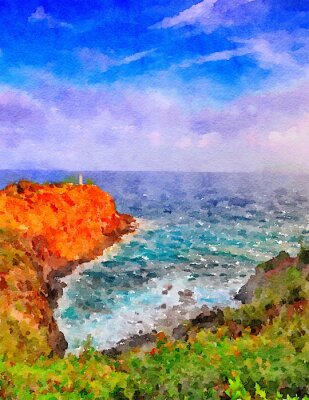 Bild Kauai Leuchtturm