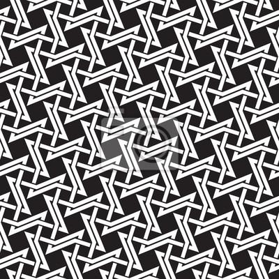 Bild Keltischen nahtlose Muster mit Farbfeld für die Füllung. Fashion geometrischen Hintergrund für Web oder Print-Design.