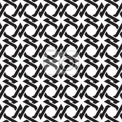 Keltischen nahtlose Muster mit Farbfeld für die Füllung. Fashion geometrischen Hintergrund für Web-und Tattoo-Design.