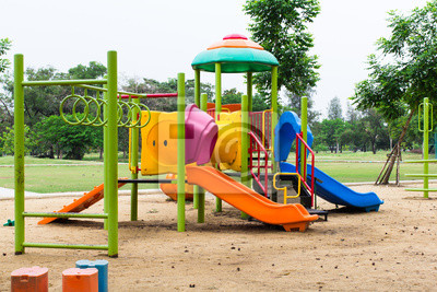 Bild Kinderspielplatz im Park