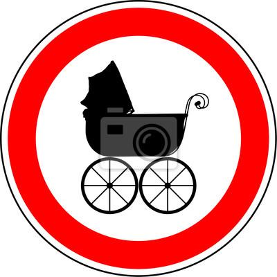 Kinderwagen verboten