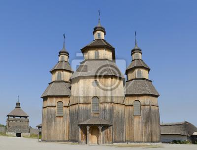 Kirche der Fürbitte der Heiligen Jungfrau die Insel Khortytsya