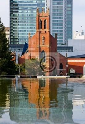 Bild Kirche Reflexion in San Francisco