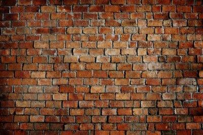 Bild Klassische schöne texturierte Ziegelmauer
