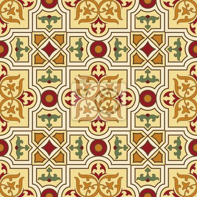 Bild klassischen Vintage nahtlose Muster