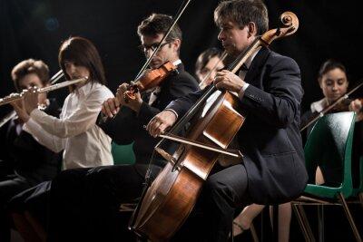 Bild Klassisches Musikkonzert: Sinfonieorchester auf der Bühne