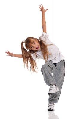 Bild Kleines Mädchen tanzen