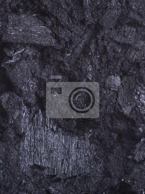 Bild Kohle, Kohlenstoff-Nuggets Hintergrund Textur schwarz