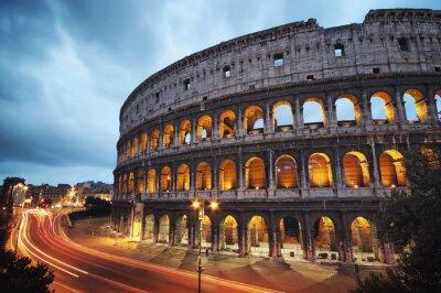Bild Kolosseum bei Nacht. Rom - Italien