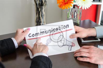 Bild Kommunikationskonzept