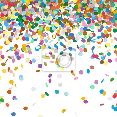 Konfetti Hintergrund Geburtstag Party Konfetti Hintergrund