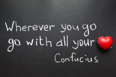 Bild Konfuzius-Zitat