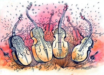 Bild Kontrabass Musik