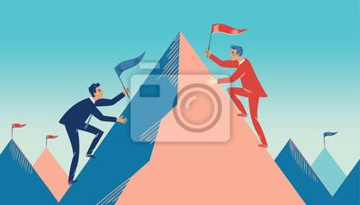Bild Konzept der Wirtschaft als Wettbewerb
