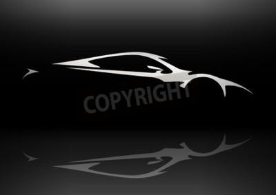 Bild Konzept Fahrzeugwagen Silhouette 06