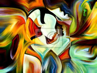 Konzeptionelle Heilige Farben
