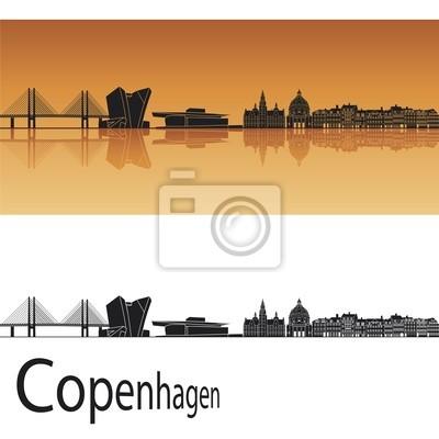 Bild Kopenhagen Skyline