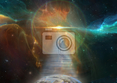 Bild Kosmische Treppe