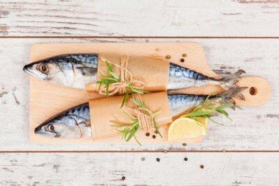 Bild Köstlichen frischen Fisch.