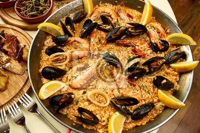 Köstlichen spanischen Abendessen